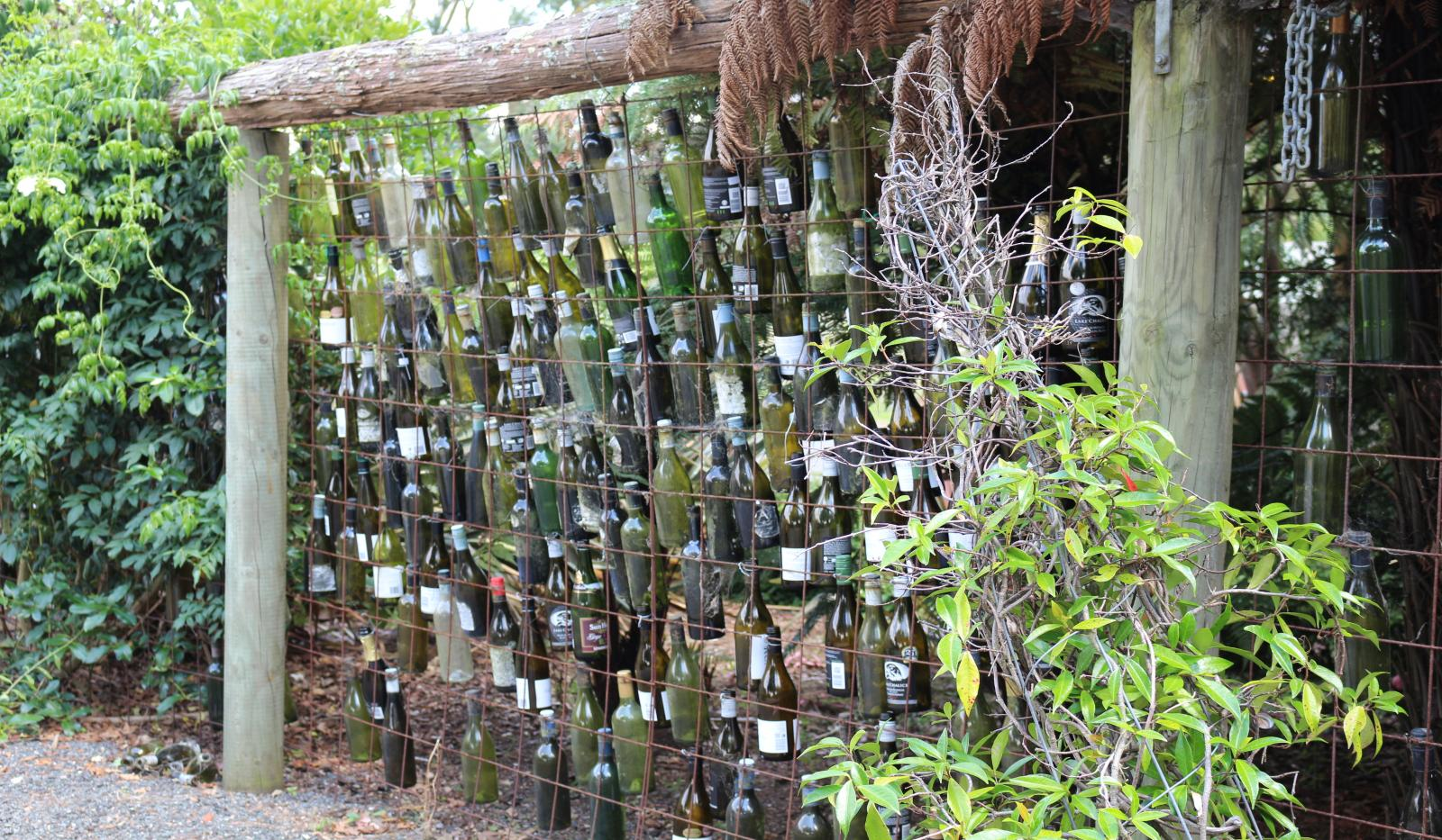 Bottle Fence